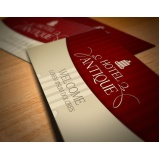 cartão de visita para hotel Jundiaí