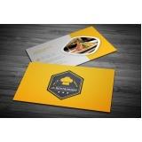 cartão de visita para restaurante Vila Prudente