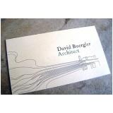 cartão de visita para arquitetos