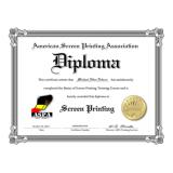 impressão de certificado para escola de curso