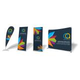 cotação com gráfica para criar banner de divulgação Caieiras