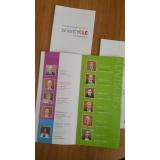 criação de folhetos orçamento Guararema