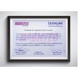 impressão certificado sebrae Cidade Ademar