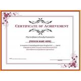 impressão de certificado para curso técnico República