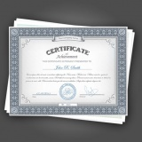 impressão de certificado para escola Nossa Senhora do Ó