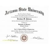impressão de certificado para faculdade Pari