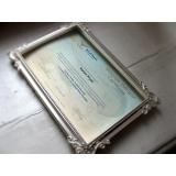 impressão de certificados e diplomas Luz