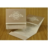 impressão de convites de casamento Vila Anastácio
