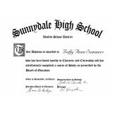 impressão de certificados