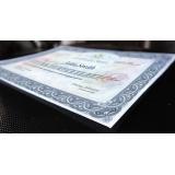 onde encontrar impressão de certificado de aprovação Campo Belo
