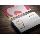 onde encontro cartão de visita para dentista Jardim Paulista