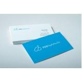 onde encontro cartão de visita para empresa Brás