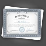 onde encontro impressão de certificado de aprovação Santo Amaro