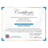 onde encontro impressão de certificado para curso técnico Saúde