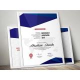 onde encontro impressão de certificados gráfica Cantareira